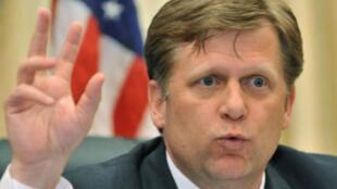 Tân đại sứ Mỹ tại Matxcơva Michael McFaul (© Reuters)